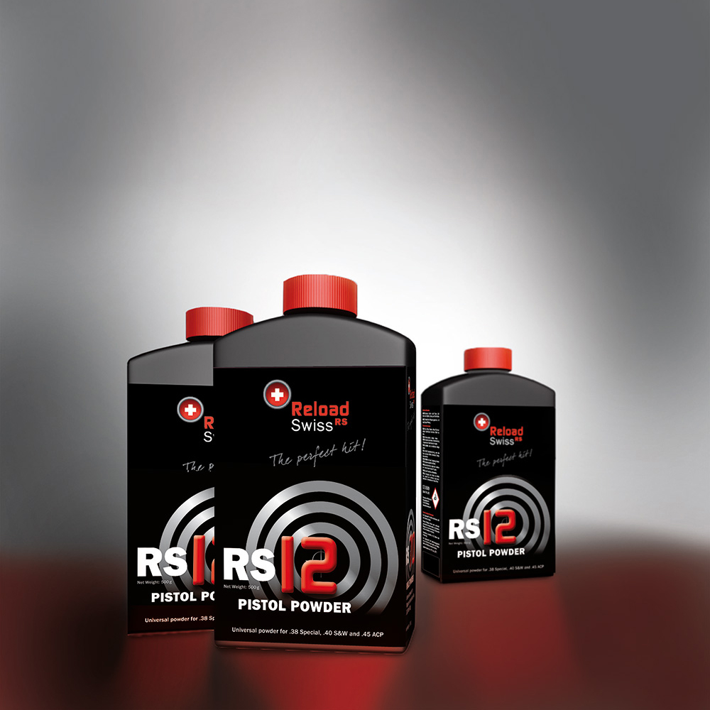 ReloadSwiss RS12 para Pistola 1/2 Kg. | RS0012 | Armería Sistach