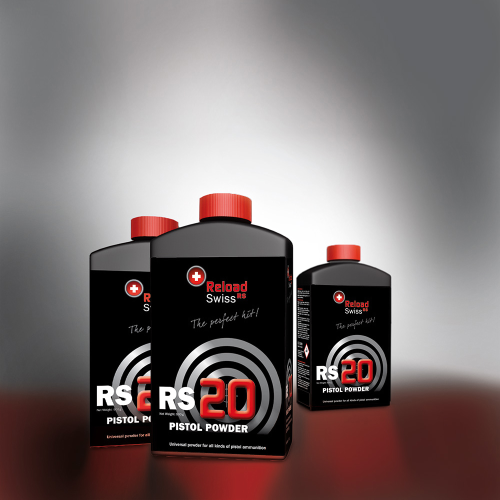 ReloadSwiss RS20 para Pistola 1/2 Kg. | RS0020 | Armería Sistach