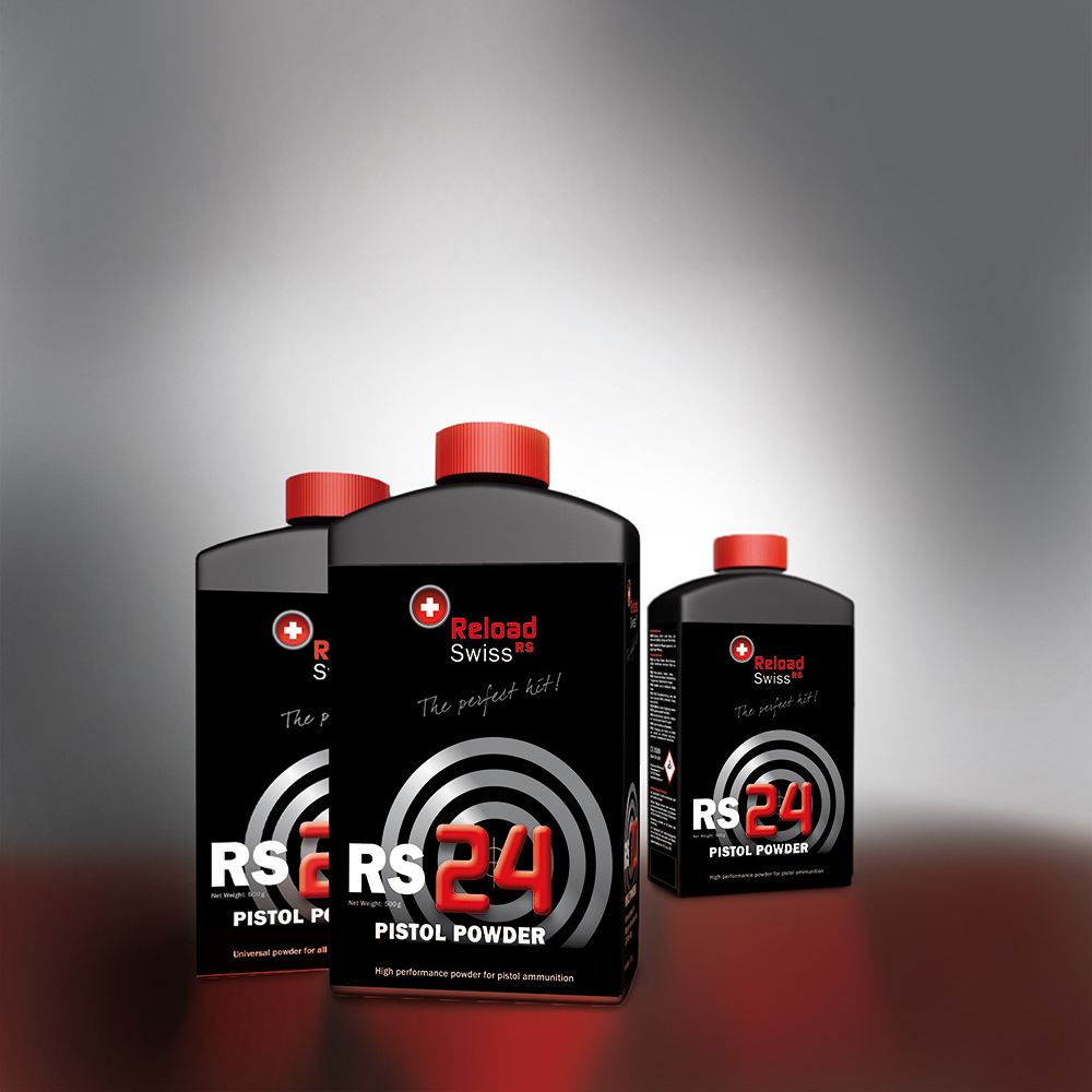 ReloadSwiss RS24 para Pistola 1/2 Kg. | RS0024 | Armería Sistach
